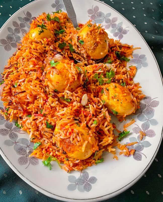 Easy Egg Biryani #eggbiryani #biryani #andabiryani