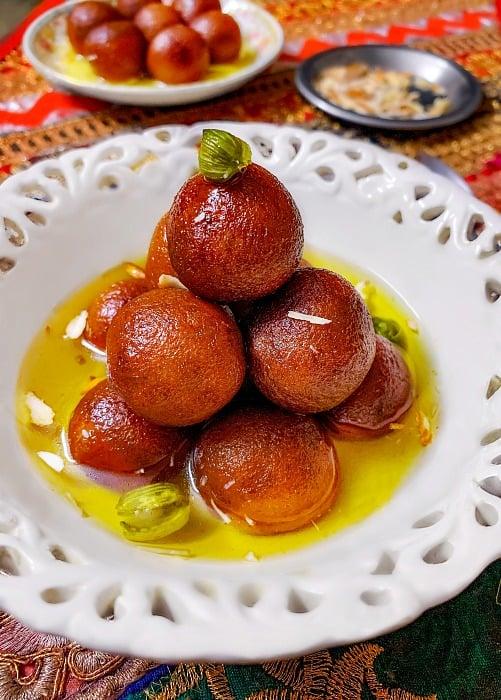 Easy Instant bread gulab jamun