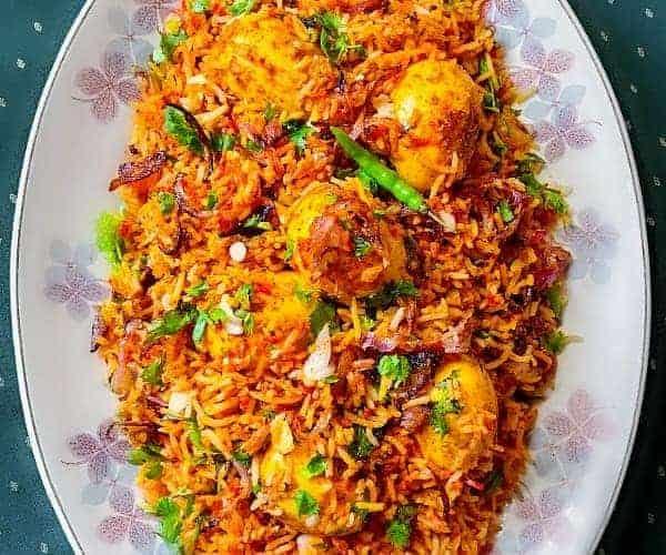 Egg Biryani Pressure Cooker Mughlai #eggbiryani #biryanrecipe #andabiryaniEgg