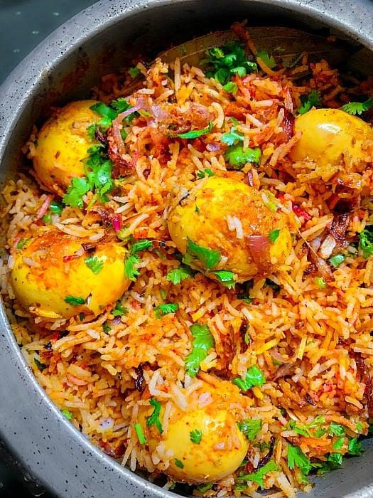Egg Biryani Pressure Cooker #eggbiryani #biryanrecipe #andabiryani