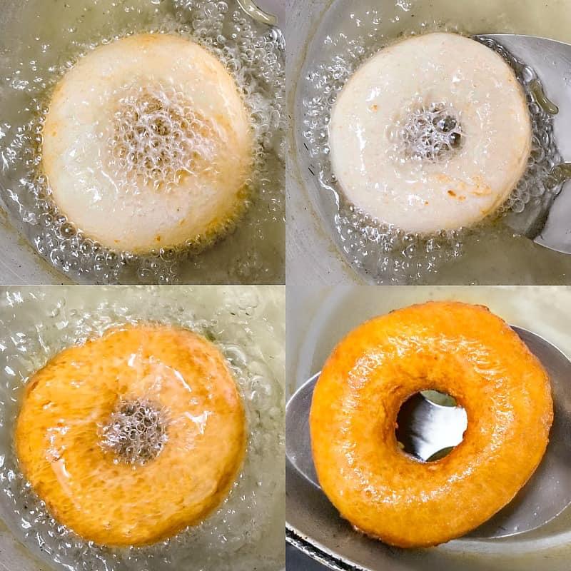 Eggless Donut Recipe #egglessdonut #eggless