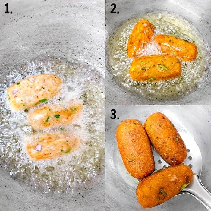 Fried Crispy Bread Roll