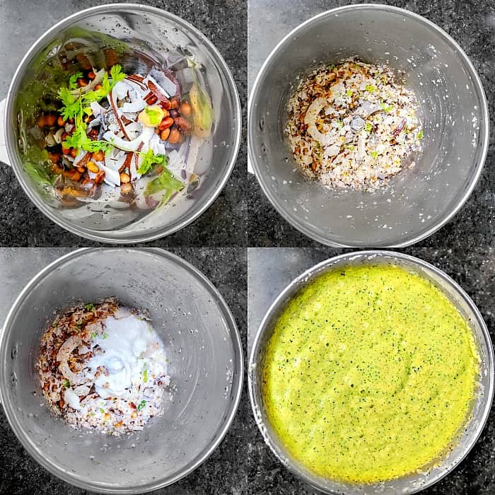 How to Make Easy Green Coconut Chutney