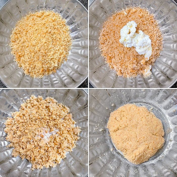 Instant bread gulab jamun Process