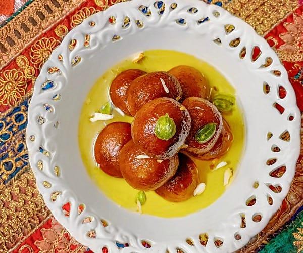 Instant bread gulab jamun recipe - Instant Gulab Jamun
