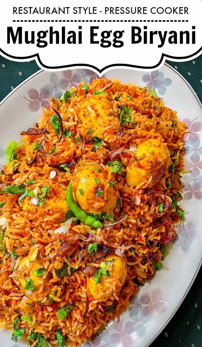 Restaurant Style Pressure Cooker Mughlai Egg Biryani #biryani #ggbiryani #mughlai