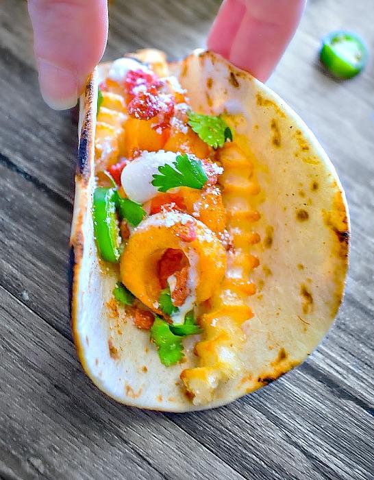 Easy Potato Tacos