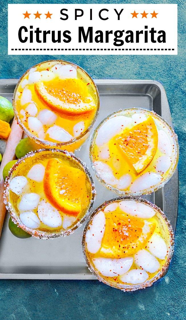Spicy Citrus Margarita Recipe