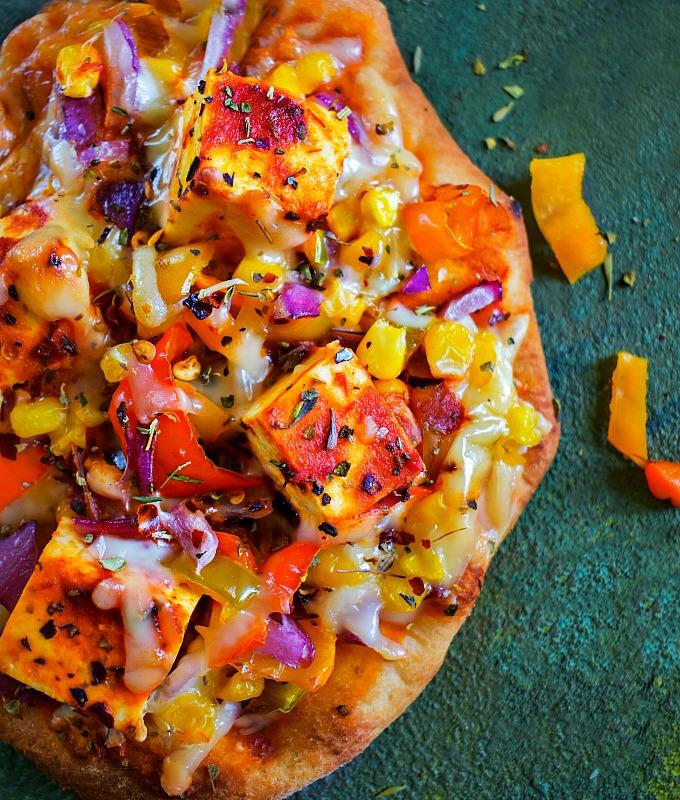 Tandoori Tofu Pizza Recipe