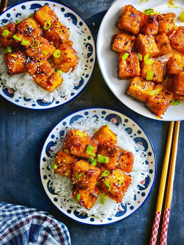 Crispy Firecracker Tofu