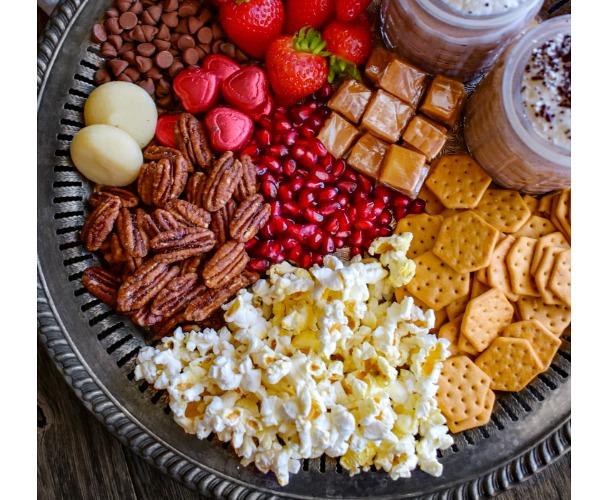 movie night snack platter