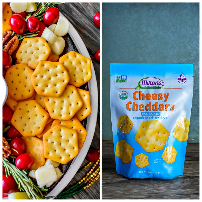 Organic-cheesy chedders crackers