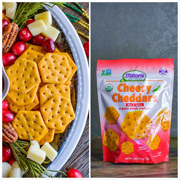 hot spicy cheesy chedders cracker