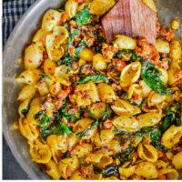 spicy-sausage-pasta-healthy-recipe