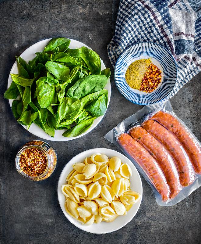 spicy sausage pasta healthy