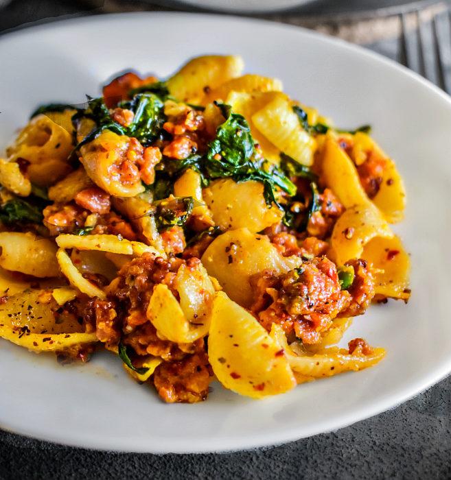 spicy sausage pasta recipe