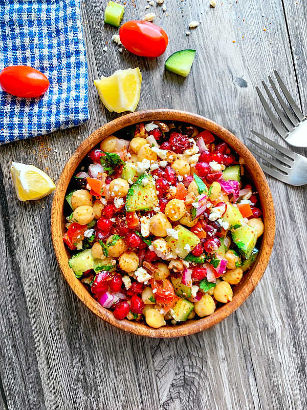 indian chickpea salad recipe-1
