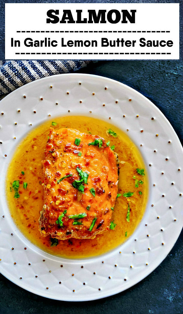 Salmon Lemon Garlic Butter Sauce