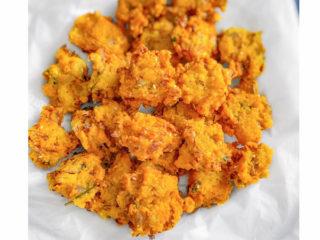 Cabbage Moong Dal Pakoda - Moong Lentil Fritters