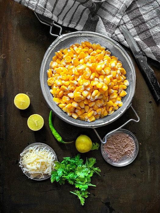 masala-cheese-corn-chaat-ingredients