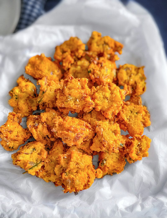Moong Dal Pakoda Fritters
