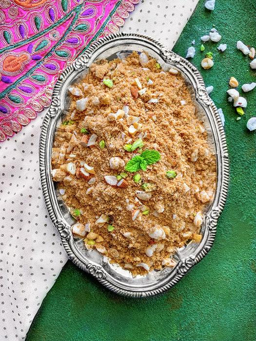 panjeeri recipe panjiri