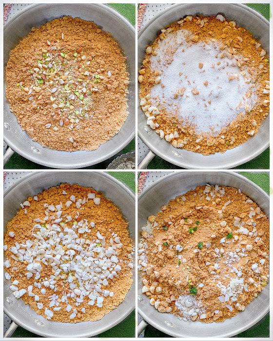 punjabi panjiri recipe