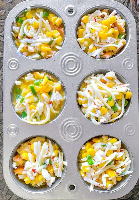 sweet corn cups recipe using kernels