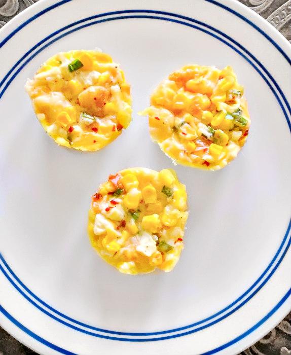 sweet corn muffins using kernels