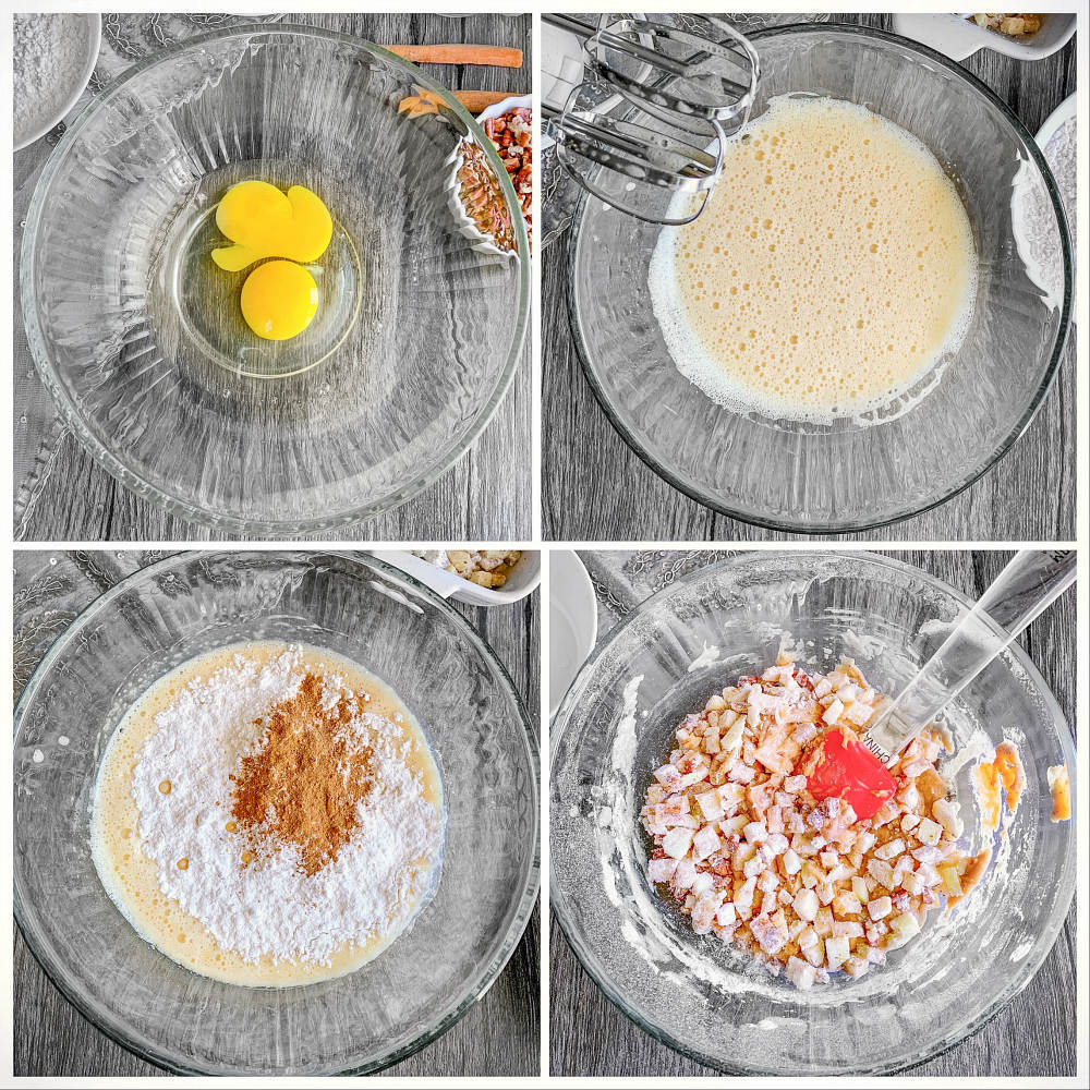 Apple Cake Process-2