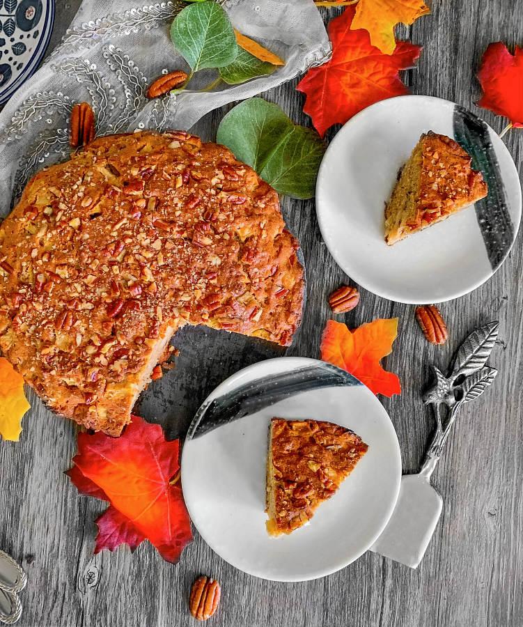 Apple Pecan Cake Recipe