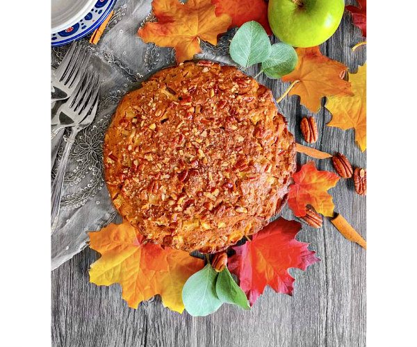 best how to make easy brown butter apple cake
