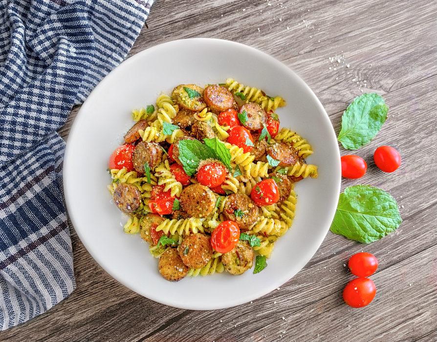 chicken sausage pasta recipe