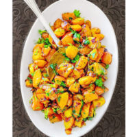 indian curried potatoes -1